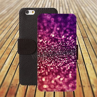 iphone 5 5s case dream glitter fire lavender colorful iphone 4/4s iPhone 6 6 Plus iphone 5C Wallet Case,iPhone 5 Case,Cover,Cases colorful pattern L306