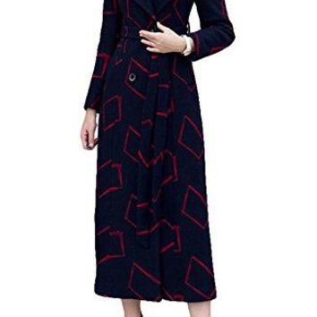 Women fashion Length Overcoat Cashmere Coat Trench Coat