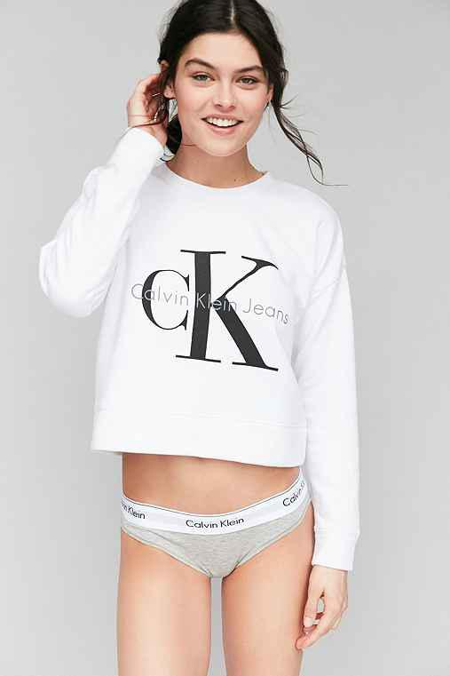 72f47b9bb1 Calvin Klein For UO Cropped Pullover from Urban Outfitters