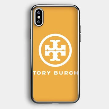 Tory Burch Logo iPhone XS Case | Casefruits
