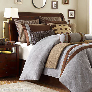 Hampton Hill Oxford Heights 10pcs. King Comforter Set