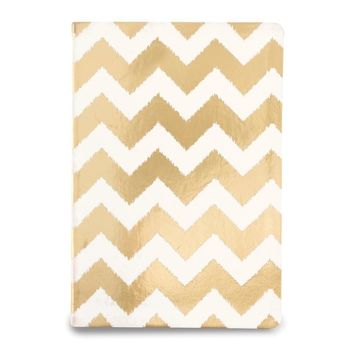 Chevron Flexi Metallic Journal