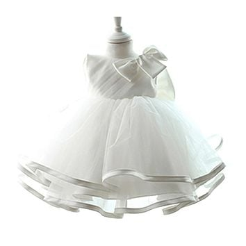 Newborn Toddler Girl Baptism Dress Baby Girl 1st Birthday Party Dresses Christening Gowns for Infants Vestido bebes Clothing