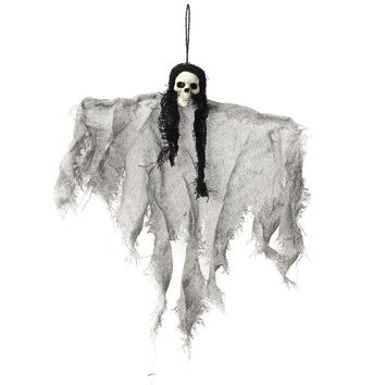 Halloween Creepy Hanging Ghost Props Skull Skeleton Devil Pendant Home Bar KTV DIY Decoration Halloween Party Events Supplies