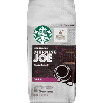 Starbucks® Morning Joe Dark Ground Coffee 12 oz. Bag