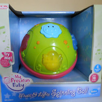 Educational Toy My Precious Baby Music & Lights Spinning Ball Infant 6M+ NEW
