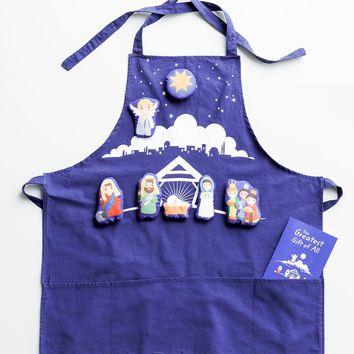 The Greatest Gift of All - Nativity Storytelling Apron
