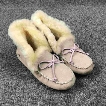 LFMON UGG 4806 Tall TODS Hogskin Sheepskin Women Men Fashion Casual Wool Winter Snow Boots Sand