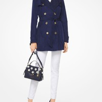 Hooded Trench Coat | Michael Kors