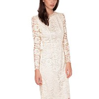 Lace midi dress - Shop the latest Fashion Trends