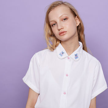 Lazy Oaf Pom Bear Shirt - View all - New In - Womens