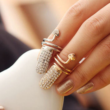 Jewelry Shiny Gift New Arrival Fashion Stylish Strong Character Ring [6573102727]