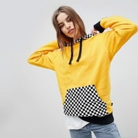 Vans Exclusive Hoodie With Checker Board Hood at asos.com