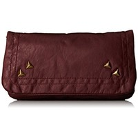 Twig & Arrow Womens Faux Leather Studded Shoulder Handbag