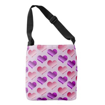 Bunches of Hearts Tote Bag