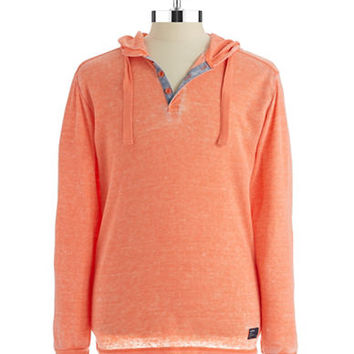 Union Jeans Hooded Henley Shirt
