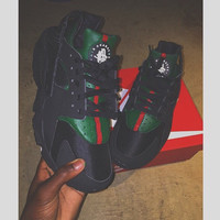 Black Gucci Huaraches
