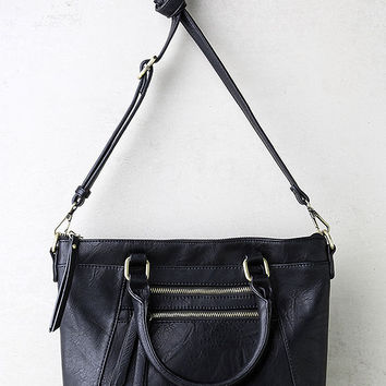 Each and Every Moment Black Handbag