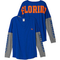 University of Florida Long Sleeve V-neck Tee - PINK - Victoria's Secret