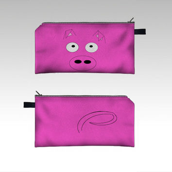 Pink Pig Pencil Case,