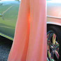 The Scenic Route Pants: Peach