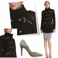 Sexy Side of Military Coat | Pretty-a-Porter: Sexy Side of Military Coat