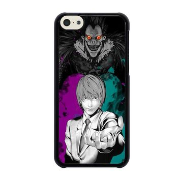 light and ryuk death note iphone 5c case cover  number 1