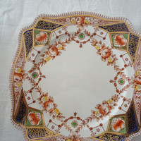 Royal Staffordshire English Porcelain Cake Plate AJ Wilkinson LTD