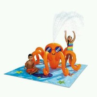 Octopus Play Center Pool Sprinkler Toddlers Babies 82.5x81x35 Water Outdoors New