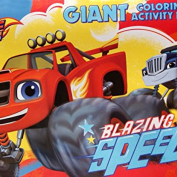 """Blaze and the Monster Machines Giant Coloring and Activity Book - 11"""" x 16"""""""