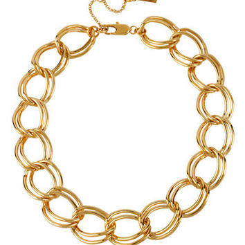 Kenneth Cole New York Gold-Plated Large Link Necklace