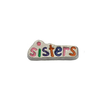 Sisters Floating Charms