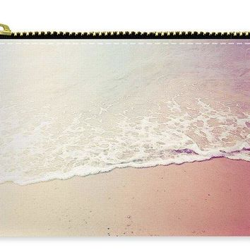 Ocean Air, Salty Hair, Watercolor Art By Adam Asar - Asar Studios - Carry-All Pouch