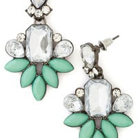 ModCloth Vintage Inspired Deco Darling Earrings