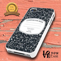 Composition Book Notepad Notes School Book Cute   for iphone, ipod, samsung galaxy, HTC and Nexus PHONE CASE
