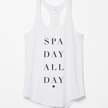 Spa Day All Day Tank