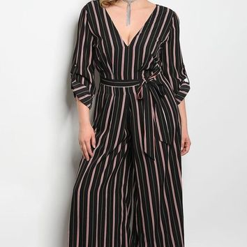 Katherine Striped Jumpsuit