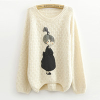 A 072908 Loose lovely cloth sweater