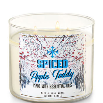 SPICED APPLE TODDY3-Wick Candle