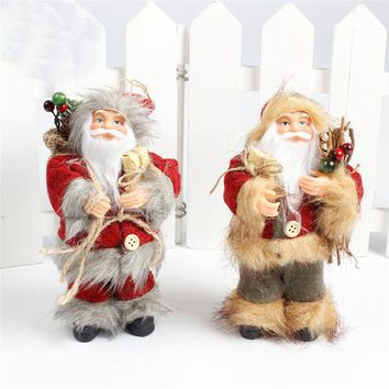 1pc Christmas Tree Door Decoration Christmas Hanging Xmas Santa Claus/Snowman Reindeer For Wall Door Ornament