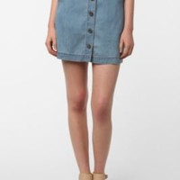 BDG Buttoned-Up Skirt
