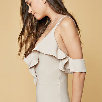 Oh My Love Frill Trim Bodysuit at PacSun.com