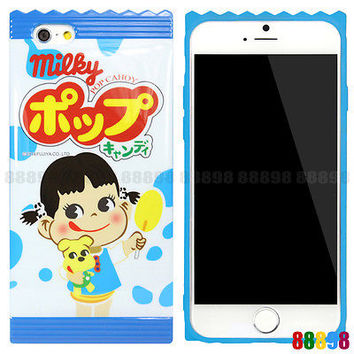 Japan Peko Milky Cute Girl Pet Dog Phone Case Cover For iPhone 6 6S PLUS 5S 5 SE