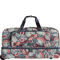 Lighten Up Large Wheeled Duffel (Nomadic Floral)