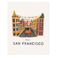 San Francisco Art Print by RIFLE PAPER Co.   Made in USA