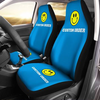 Custom Printed Car Seat Covers (set of 2) - Custom Order Request