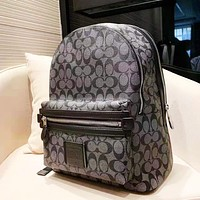 Coach fashion printed backpacks casual backpacks for men and women