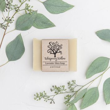 Lavender Shea Natural Soap