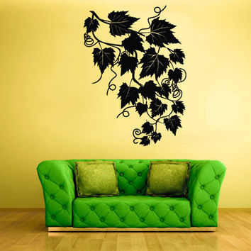 rvz566 Wall Decal Vinyl Sticker Decor Art Bedroom Decal Foliage Tree Modern Fashion Style