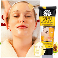 24k Gold Collagen Peel-off Facial Mask Whitening Anti-Wrinkle Face Masks